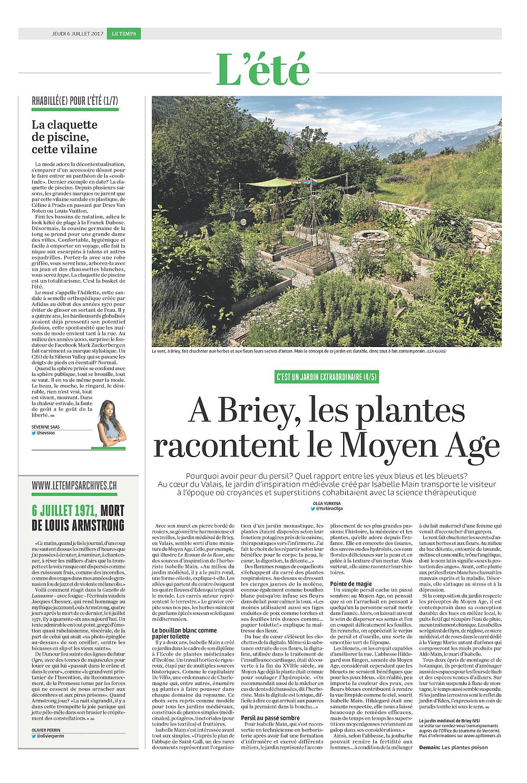 les plantes racontent le moyen-âge
